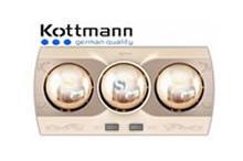 Đèn sưởi nhà tắm Kottmann 3 bóng K3B-Q